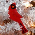 Cardinal-in-White-Tree