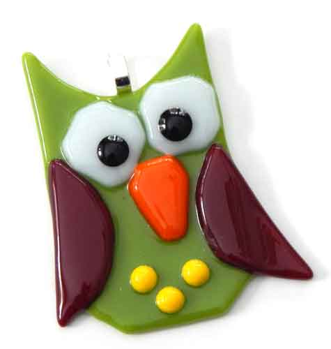 Whimsical Owl Ornament