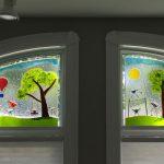 Fused Glass Window
